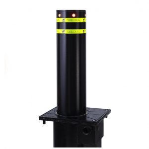 Assisted Lift Manual Retractable Bollards Carbon Steel