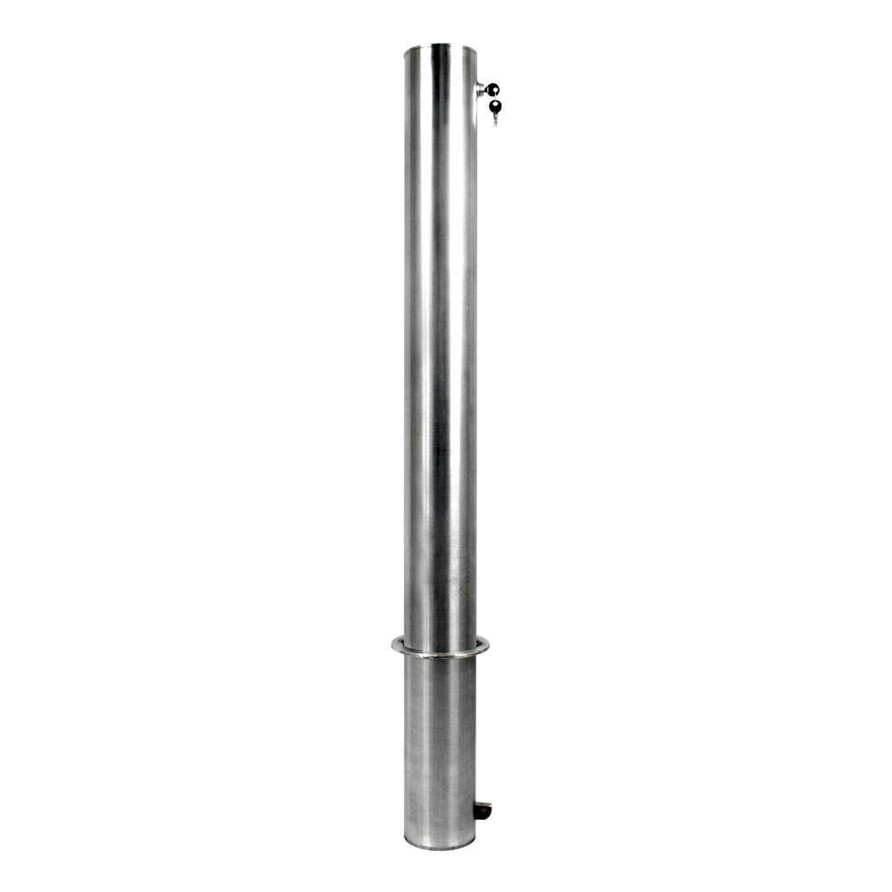 Internal Locking Removable Stainless Steel | 1-800-BOLLARDS